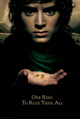 The Lord of the Rings: The Definitive Movie Posters - Insights Poster Collections (Paperback)