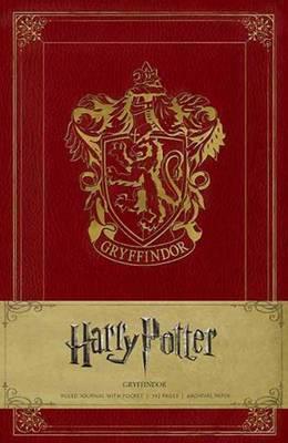 Harry Potter Gryffindor Hardcover Ruled Journal - Harry Potter (Hardback)