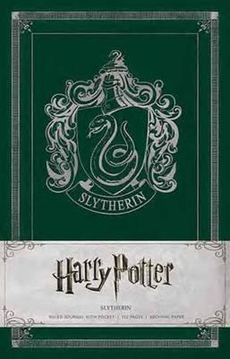 Harry Potter: Slytherin Ruled Pocket Journal - Harry Potter (Hardback)