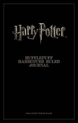 Harry Potter: Hufflepuff Hardcover Ruled Journal - Harry Potter (Hardback)