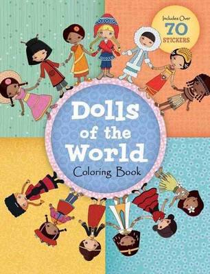 Dolls Of The World Coloring Book