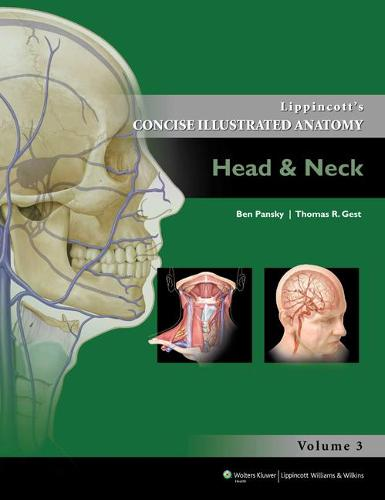 Lippincott Concise Illustrated Anatomy: Head & Neck - Lippincott's Concise Illustrated Anatomy 3 (Paperback)
