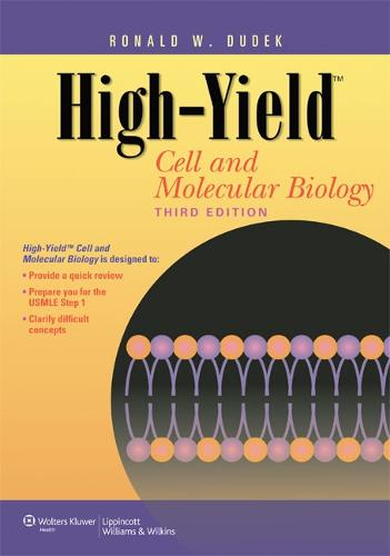 High-Yield (TM) Cell and Molecular Biology - High-yield Series (Paperback)
