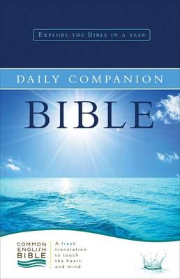 Common English Daily Companion Bible (Hardback)