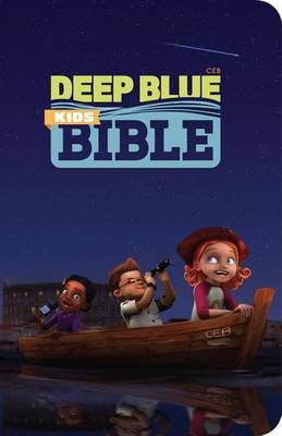 Deep Blue Kids Bible-CEB (Paperback)