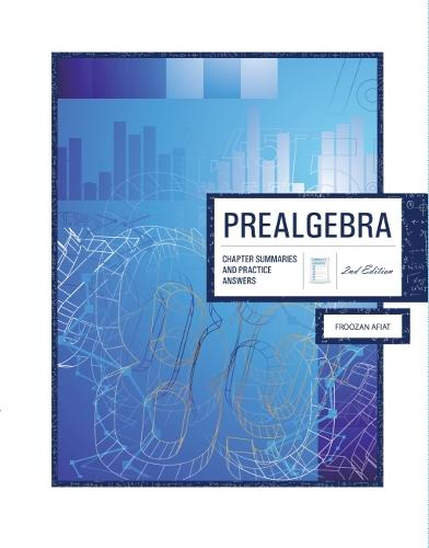 Prealgebra: Chapter Summaries & Practice Answers (Paperback)