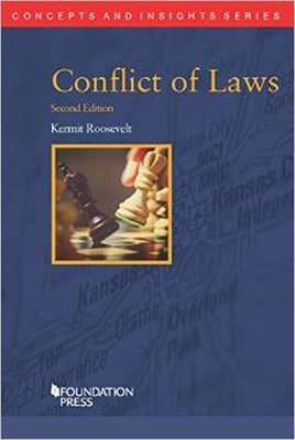 Conflict of Laws - Concepts and Insights (Paperback)
