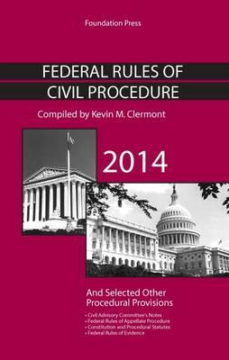 Federal Rules of Civil Procedure - Selected Statutes (Paperback)