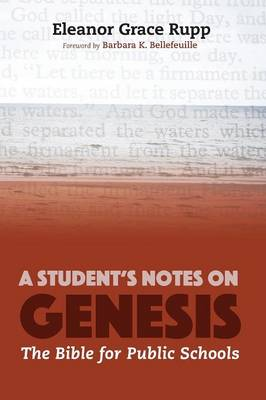 A Student's Notes on Genesis (Paperback)