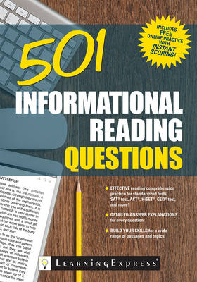501 Informational Reading Questions - 501 Series (Paperback)