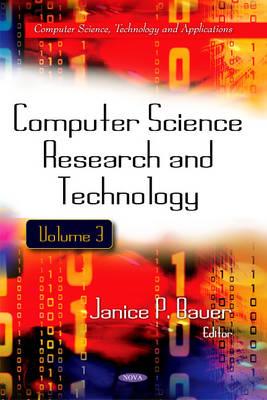 Computer Science Research & Technology: Volume 3 (Hardback)