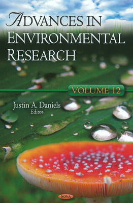 Advances in Environmental Research: Volume 12 (Hardback)