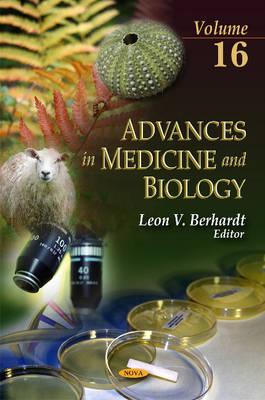 Advances in Medicine & Biology: Volume 16 (Hardback)