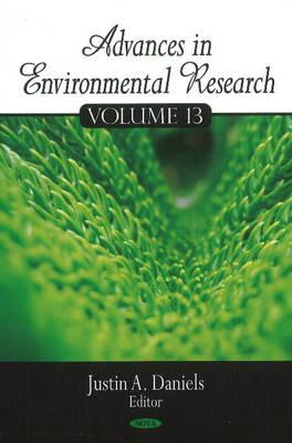 Advances in Environmental Research: Volume 13 (Hardback)