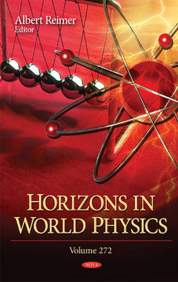 Horizons in World Physics: Volume 272 (Hardback)