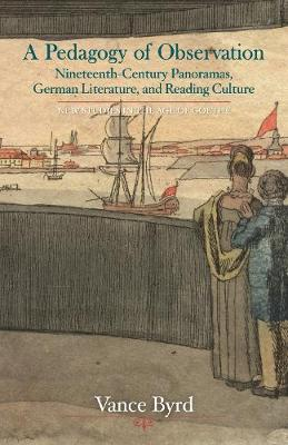 A Pedagogy of Observation: Nineteenth-Century Panoramas, German Literature, and Reading Culture - New Studies in the Age of Goethe (Hardback)