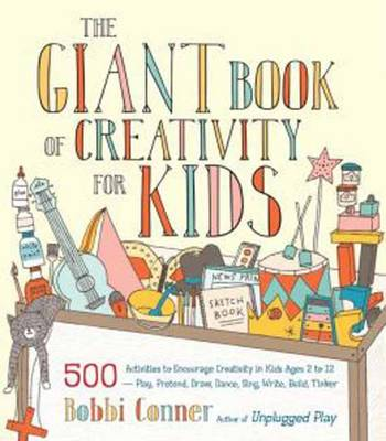The Giant Book Of Creativity For Kids (Paperback)