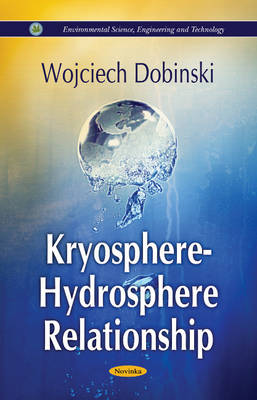 Kryosphere - Hydrosphere Relationship (Paperback)