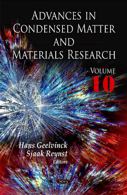 Advances in Condensed Matter & Materials Research: Volume 10 (Hardback)