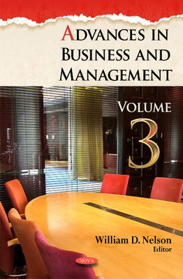 Advances in Business & Management: Volume 3 (Hardback)