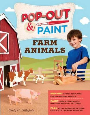 Pop out & Paint Farm Animals (Paperback)