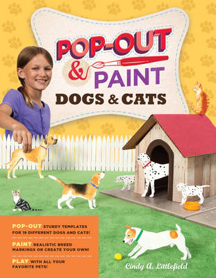Pop out and Paint Dogs and Cats (Paperback)