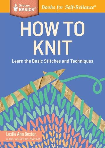 How to Knit (Paperback)