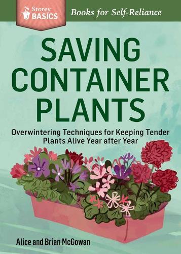 Storey Basics Saving Container Plants (Paperback)