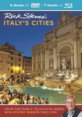 Rick Steves' Italy's Cities DVD & Blu-Ray 2000-2014 (DVD video)