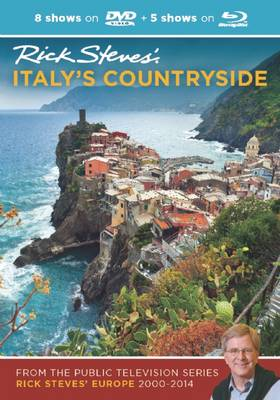 Rick Steves' Italy's Countryside DVD & Blu-Ray 2000-2014 (DVD video)