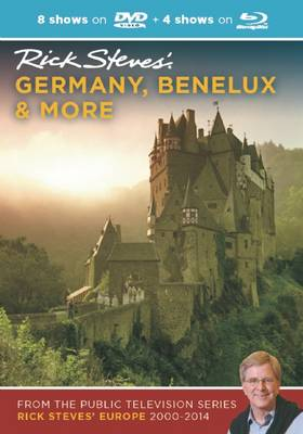 Rick Steves' Germany, Benelux & More DVD & Blu-Ray 2000-2014 (DVD video)