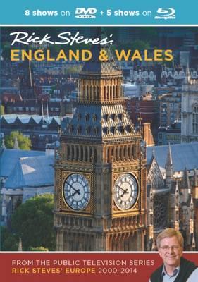 Rick Steves' England & Wales DVD & Blu-Ray 2000-2014 (DVD video)