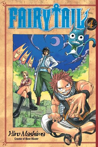 Fairy Tail 4 (Paperback)