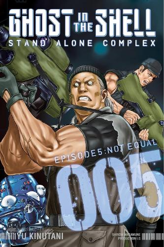 Ghost In The Shell: Stand Alone Complex 5 (Paperback)