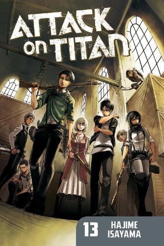 Attack On Titan 13 (Paperback)
