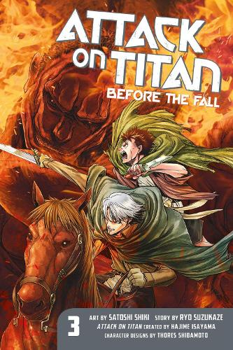 Attack On Titan: Before The Fall 3 (Paperback)