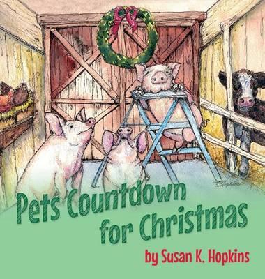 Pets Countdown for Christmas (Hardback)