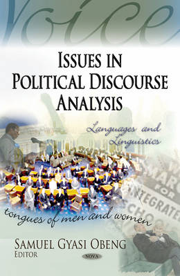 Issues in Political Discourse Analysis (Hardback)