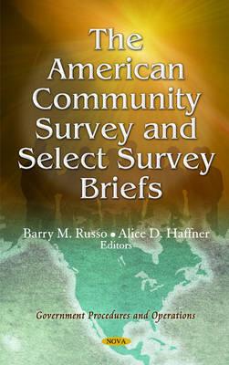 American Community Survey & Select Survey Briefs (Hardback)