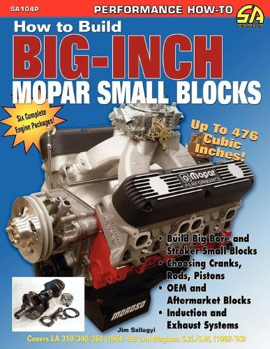 How to Build Big-Inch Mopar Small Blocks (Paperback)
