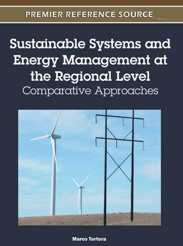 Sustainable Systems and Energy Management at the Regional Level: Comparative Approaches (Hardback)