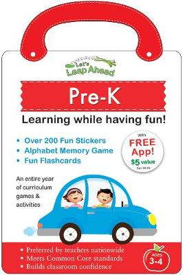 Let's Leap Ahead: Pre-K Learning While Having Fun!: Pre-K Learning While Having Fun! (Paperback)