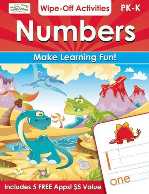 Numbers Wipe-Off Activities: Endless fun to get ready for school! (Paperback)
