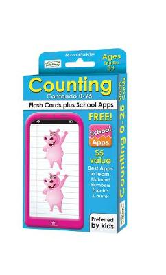 Counting 0-25 Flash Cards (Paperback)