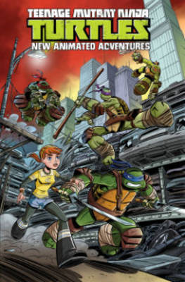 Teenage Mutant Ninja Turtles New Animated Adventures Volume1 (Paperback)