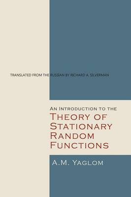 An Introduction to the Theory of Stationary Random Functions (Paperback)