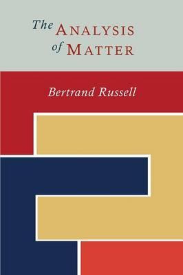 The Analysis of Matter (Paperback)