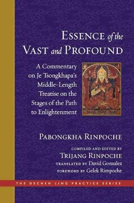 The Essence of the Vast and Profound: A Commentary on Je Tsongkhapa's Middle-Length Treatise on the Stages of the Path to Enlightenment - The Dechen Ling Practice Series (Hardback)