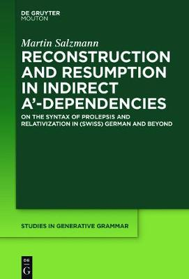 Reconstruction and Resumption in Indirect A`-Dependencies: On the Syntax of Prolepsis and Relativization in (Swiss) German and Beyond - Studies in Generative Grammar [SGG] 117 (Hardback)
