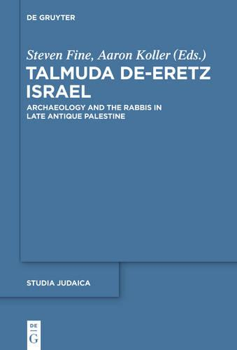 Talmuda de-Eretz Israel: Archaeology and the Rabbis in Late Antique Palestine - Studia Judaica (Hardback)